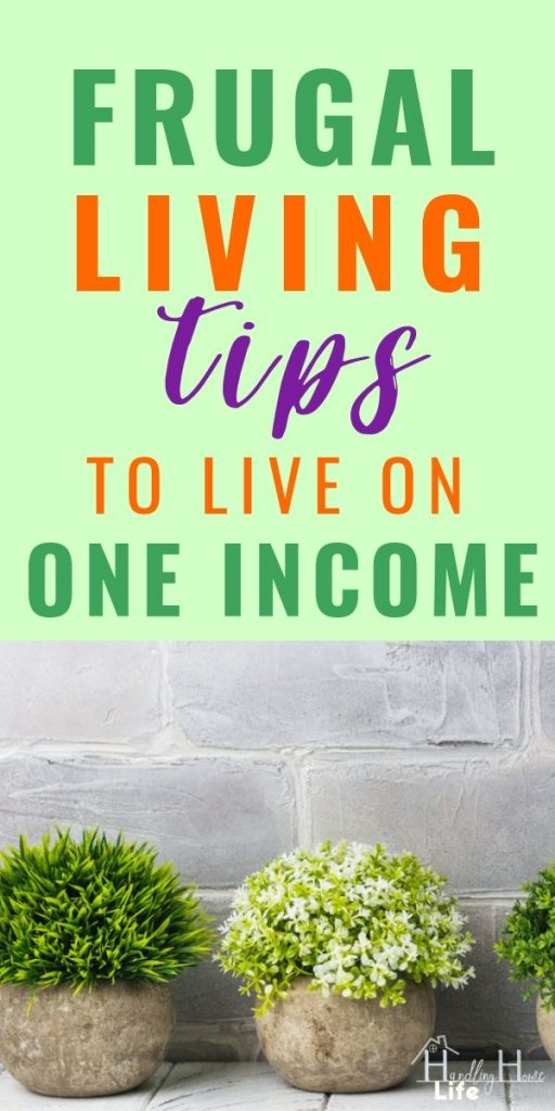 best frugal living tips for living on one income