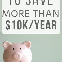pink piggy bank: frugal living tips