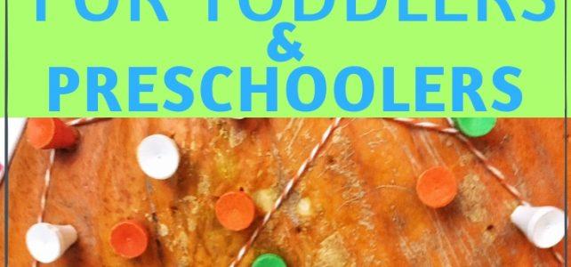 fun pumpkin activities for toddlers and preschoolers