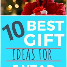 10 Best Gifts for 5 Year Old Boys They are Sure to Love