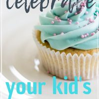 how to make kid's birthday special without a party