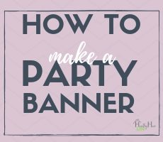 How to Make an Easy DIY Felt Holiday Banner (or for any Occasion)