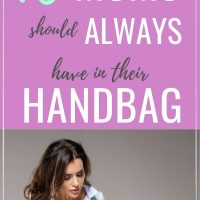 what moms should carry in handbag