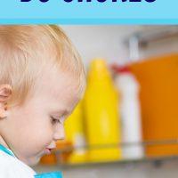 Teaching life skills to toddlers
