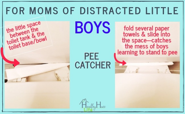 toilet cleaning tips for moms of little boys