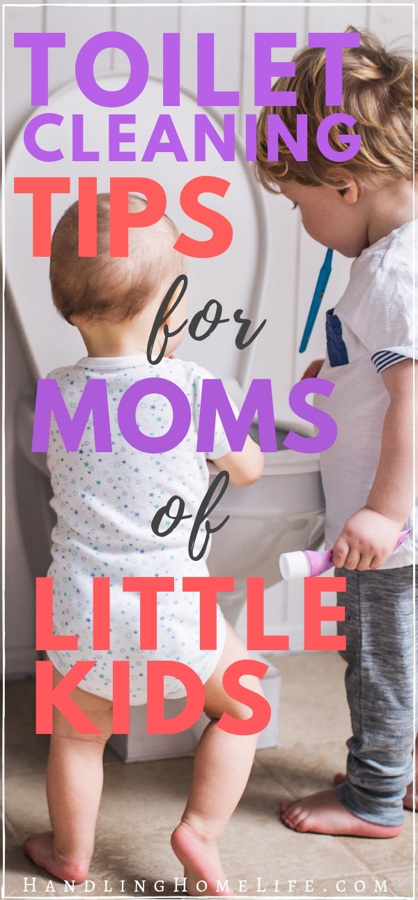 toilet cleaning hacks for busy moms