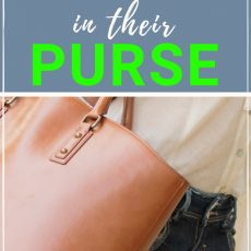Mom Purse Essentials: What Smart Moms Keep in Their Handbag