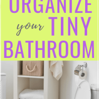 12 smart ways to organize a small bathroom