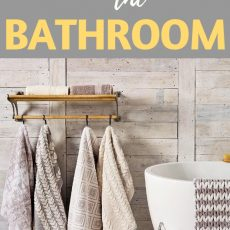 Bathroom Organization Ideas: How to Declutter & Organize Your Bathroom