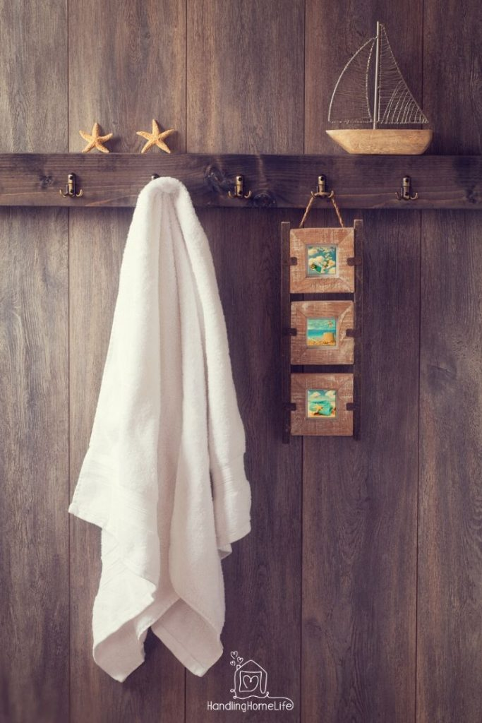 bathroom organization ideas for towels