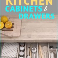 Organize kitchen cabinets and drawers in 5 steps