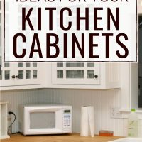how to have organized kitchen cabinets