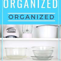 how busy moms organize the kitchen