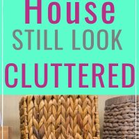 things making your home look cluttered
