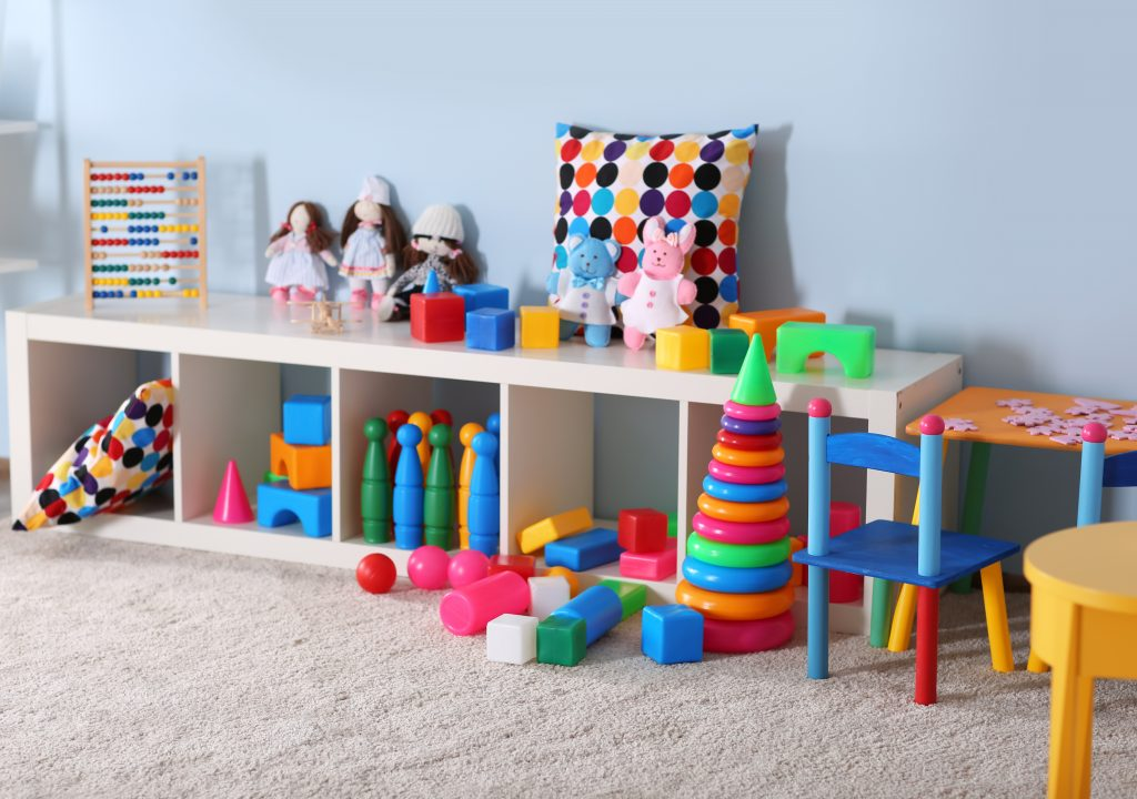 Organize your home to have a cute playroom