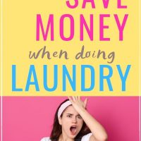 ways to save money when doing laundry