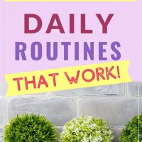 establishing a routine for moms