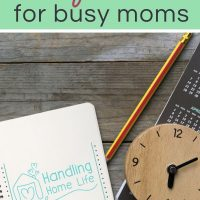 time management ideas for moms