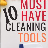 10 Must Have Cleaning Tools