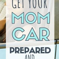 car organization hacks for moms