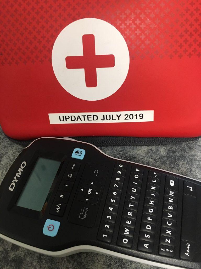 mom car essentials: first aid kit