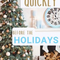 Declutter your home before the holidays