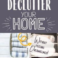 declutter without overwhelm