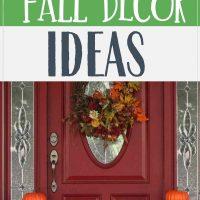 frugal fall decor ideas
