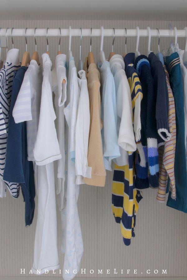 closet organization for kids
