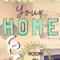 declutter when stuck at home