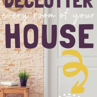 how to purge and declutter