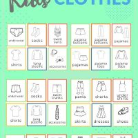 how to organize kids clothing
