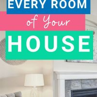 how to declutter each room of your house
