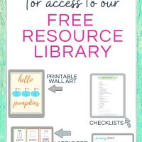 join free resource library #handlinghomelife
