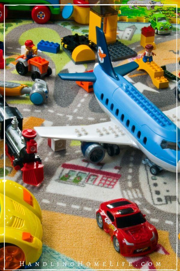 kids toys scattered across the floor