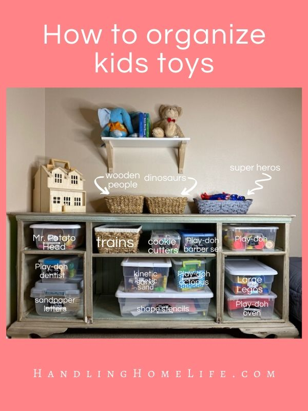 how to organize kids toys and bedrooms