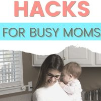 time saving hacks for moms
