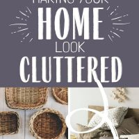 simple cozy clutter free home
