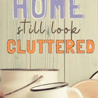 minimize clutter at home