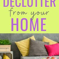 100 things to declutter from your home