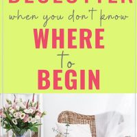 things to declutter for a tidy home