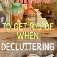 home organization and decluttering