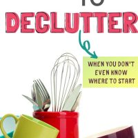 decluttering ideas for the home