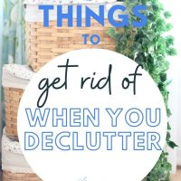 home declutter and clean