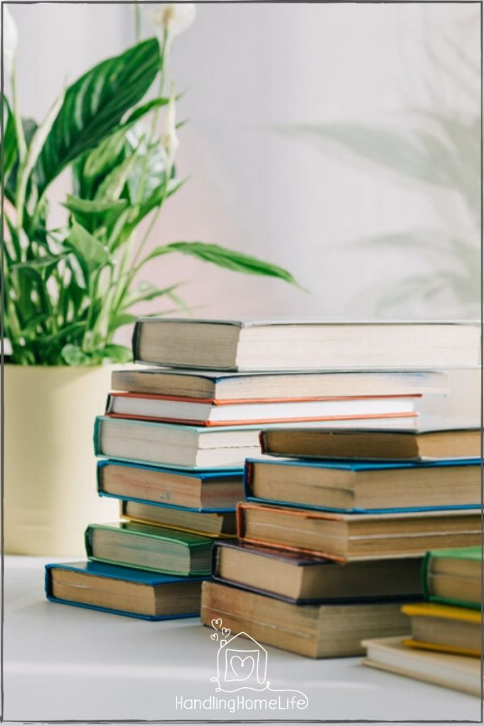 decluttering your books