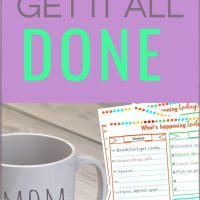 how busy moms get everything done