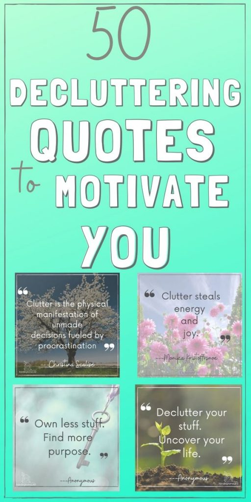 declutter motivation