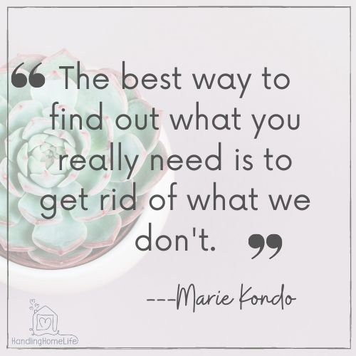 Marie Kondo quotes