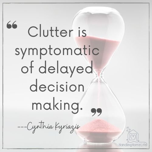 declutter for better mental health