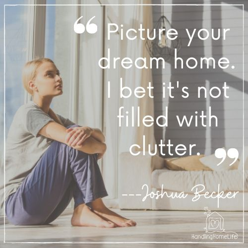 motivational quotes for decluttering